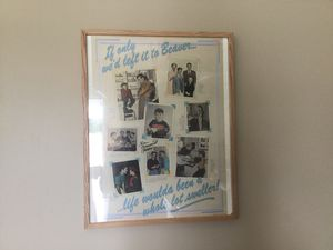 LEAVE IT TO BEAVER PRINT AUTOGRAPHED BY KEN OSMOND (EDDIE) for Sale in Shawnee, KS