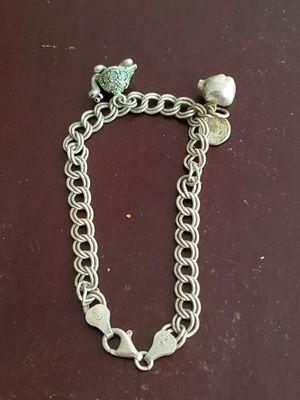 Vintage Sterling Silver Charm Bracelet. for Sale in Peoria, AZ