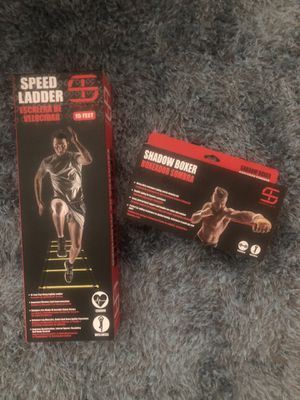 Shred &Tone Speed Ladder & Shadow Boxer Set for Sale in Katy, TX