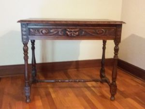 Antique Tiger Oak Table from France for Sale in Tacoma, WA