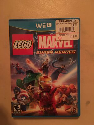 Nintendo Wii U LEGO marvel super heroes for Sale in Visalia, CA