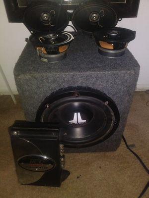 Sub and 4 door speakers for Sale in Corona, CA