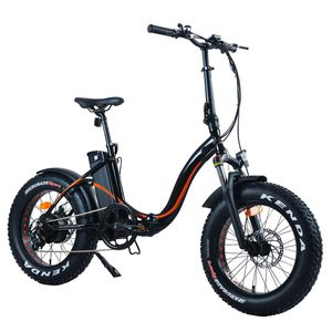 Folding Electric Bike 20 Inch Fat Tire City Mountain E-Bike for Adults Men&Women 500W Motor 48V 12AH Removable Lithium-Ion Battery LCD Screen Beach S for Sale in La Puente, CA