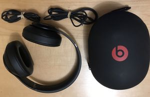 Beats by Dr. Dre Studio 3 Wireless Over Ear Noise Cancelling Headphones - Matte Black for Sale in Boston, MA