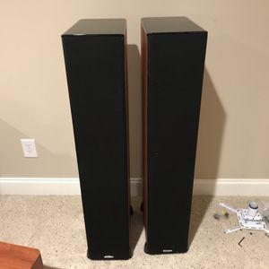 5 POLK AUDIO TSI CHERRY SURROUND SOUND SPEAKERS TSI500 TSI200 CS20 for Sale in Raleigh, NC