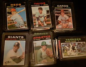 1971 Topps baseball cards for Sale in Wentzville, MO