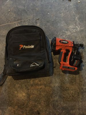 Paslode nail gun for Sale in Springfield, VA