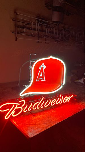 ANGELS CAP NEON SIGN LIGHT for Sale in Los Angeles, CA