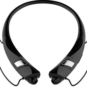 Bluetooth Neckband Headset,Flexible Neckstrap With Magnetic Earbuds And Vibration Answer Calls,Wireless Stereo Headset, Music Play 9 Hours, Black for Sale in Duluth, GA