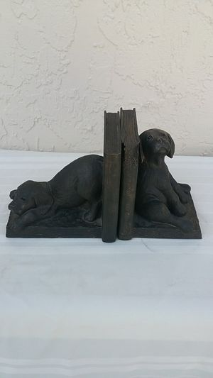 Chocolate lab bookends for Sale in Port St. Lucie, FL