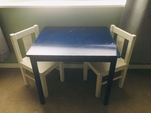 Kids table and chairs for Sale in Edgewood, WA