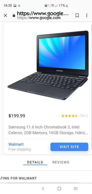 Chromebook laptop for Sale in Oceanside, CA