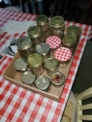 15 Miscellaneous Canning Jars for Sale in South Brunswick Township, NJ