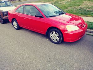 2003 Honda Civic (salvaged title) for Sale in Tacoma, WA