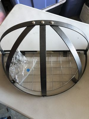 Wall hanging pot rack, used only 6 months ideal for a kitchen with limited cabinetry. for Sale in Brentwood, TN