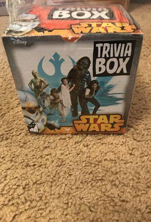 Star Wars Trivia box for Sale in Ashburn, VA