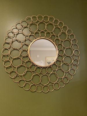 Stella Wall Mirror in Gold for Sale in Smyrna, GA