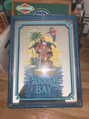 Captain Morgan's parrot bay wooden framed sign for Sale in Denver, CO