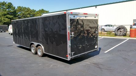 VNOSE ENCLOSED TRAILERS NEW 20FT 24FT 28FT 32FT RACE CAR TRUCK SLED BIKE ATV SIDE BY SIDE HAULER MOVING STORAGE for Sale in Los Angeles,  CA