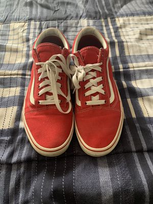 Red vans size 11 US for Sale in Orlando, FL