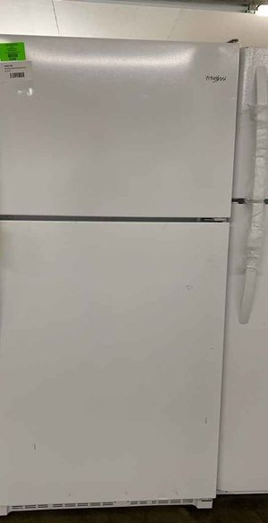 Whirlpool refrigerator!! Top freezer all new!! With warranty 6 for Sale in Houston, TX