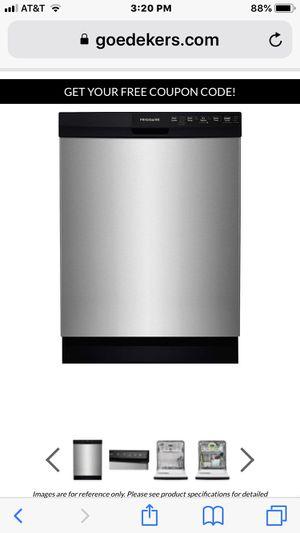 """fridgaire stainless steel 24"""" dishwasher model ffbd2412ssoa for Sale in Hollywood, FL"""