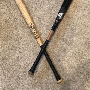 Two Wooden Softball Bats for Sale in Normandy Park, WA