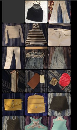 100+ pieces of clothing small/med and L/XL for Sale in Alexandria, VA