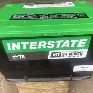Chevy Suburban, Tahoe, Group 78 Battery. Few months of use. for Sale in Melrose Park, IL
