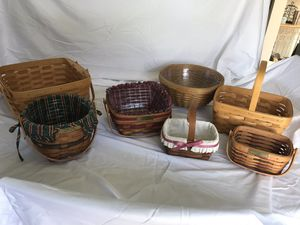 Various Longaberger baskets for Sale in Columbus, OH