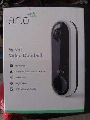 Arlo wired doorbell camera for Sale in San Antonio, TX