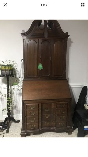 Maddox Cherry Secretary Desk for Sale in Raleigh, NC