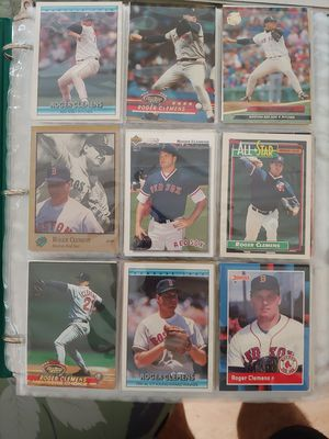 Binder full of Roger Clemens baseball 174 cards for Sale in Parkland, FL