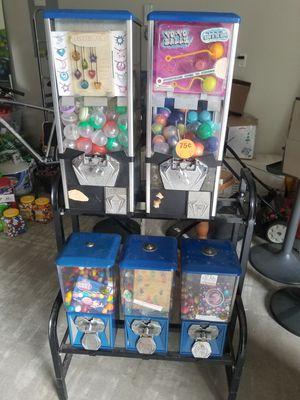5-head bulk vending rack for Sale in Grayson, GA