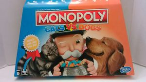 Monopoly Cats vs Dogs - Board Game. - for Sale in Providence, RI