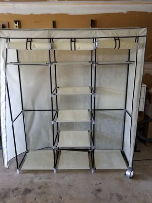 Portable clothes closet for Sale in Frederick, MD