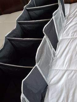 Foldable Black Canvas Closet Organizing Shelf Sturdy hanging shelf for Sale in Federal Way,  WA