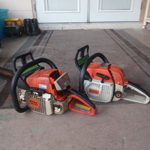 2 Stihl Chainsaws for Sale in Bartow, FL