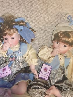 Twin Dolls, Girl And Boy Beautifully Dressed Dolls for Sale in Long Beach,  NY