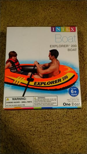 Intex Explorer 200 Inflatable Boat for Sale in Maricopa, AZ