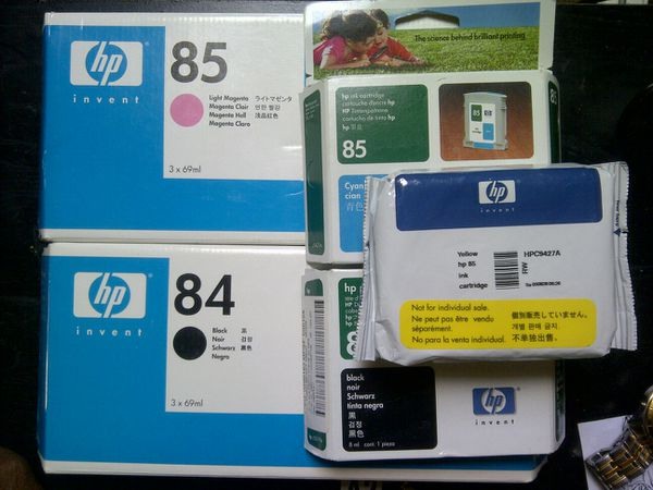 Genuine HP 84/85 Ink Expiration '06