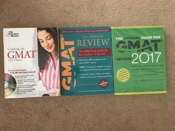 New / used GMAT 2017 office guide with CDs, 13th ed + extras - 69