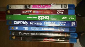 Blu-ray $12 for all for Sale in Hudson, FL