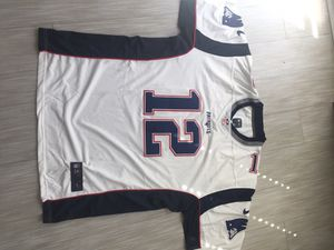 NEW Brady #12 New England Patriots White jersey size XLARGE for Sale in Tempe, AZ