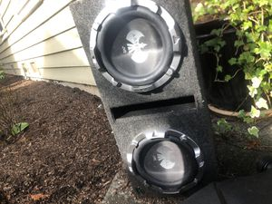 2 12in. JVC subs for Sale in Bothell, WA