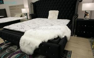 +•❈•+ / King Bed frame $699 Financing Available for Sale in Miami, FL