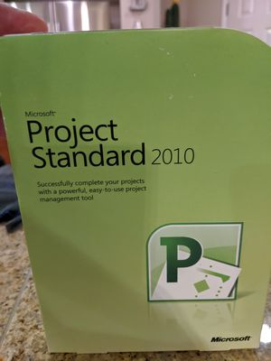 Brand New Microsoft Project Standard 2010-2 available for Sale in Palm Springs, CA