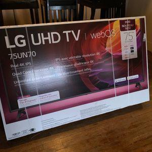 Lg Tv 75 Inch for Sale in Detroit, MI