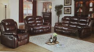 Reclining chocolate sofa & Love for Sale in Pittsburgh, PA