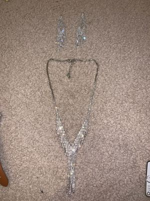 Earring and Necklace Set for Sale in Plano, TX